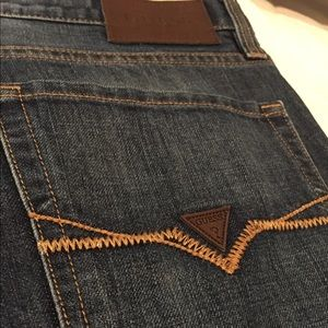 Guess Jeans - Guess Jeans - Distressed Wash Dark Denim